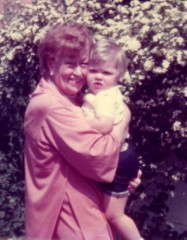 Sylvia Sullivan with her great-niece