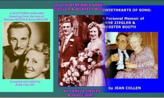 Books about Webster Booth and Anne Ziegler