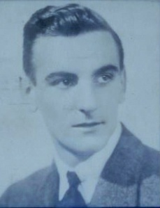 Leslie Webster Booth as a young man