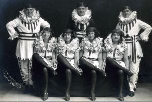 The Opieros before Webster Booth joined them in 1927/
