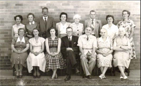 Oliver Lodge staff (1956)