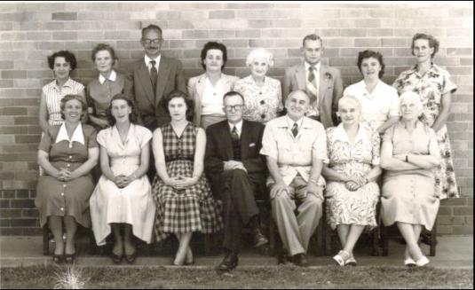 Oliver Lodge staff (1956)