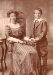 My paternal grandmother and father