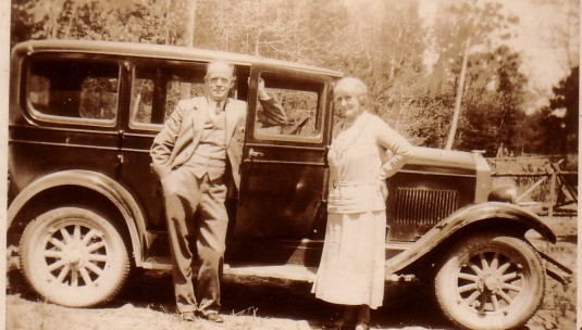 My grandparents, Jane and Alec Kyle In Canada in the 1930s