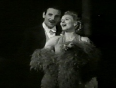 "Webster Booth and Anne Ziegler in the film ""Demobbed"" (1944)"
