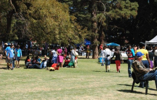 Kensington Spring Fair, Rhodes Park. 2013