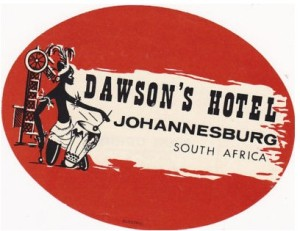 Label for Dawson's Hotel.