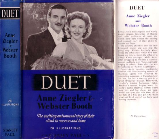 """Duet"" by Anne Ziegler and Webster Booth, published 1951."