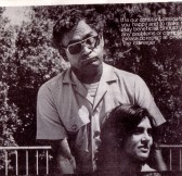 Bill Curry and Denise Newman in a play in 1981.