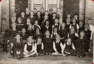 Standard 2. I am seated in the front row on the left