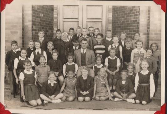Standard 2 Afrikaans class (1952)