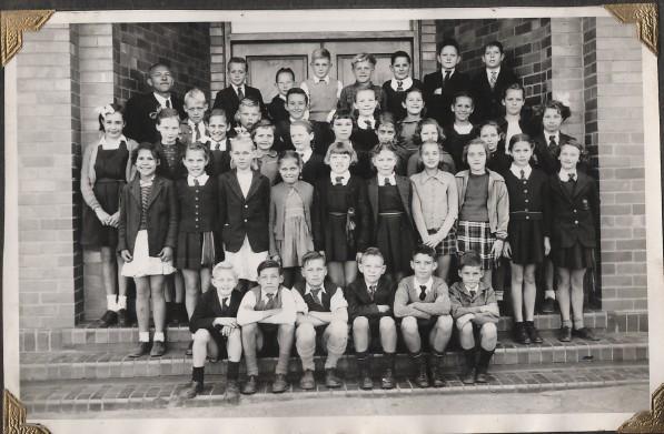 Standard 3 Afrikaans class (1953)