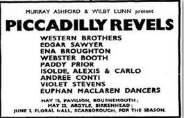 1933 Piccadilly Revelsa