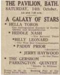 1941 show at The Pavilion, Bath