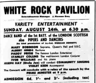 Variety concert (1941)