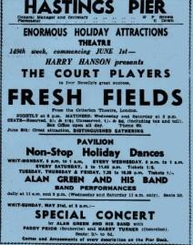 Special Concert in 1936